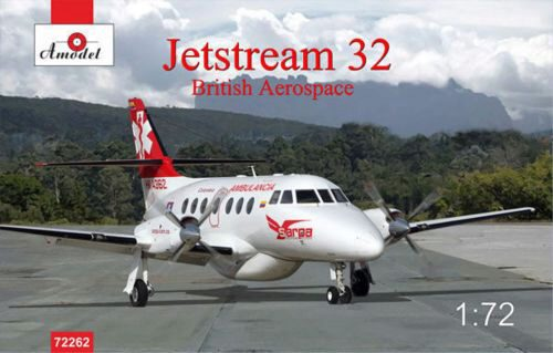 Amodel AMO72262 Jetstream 32 British airliner