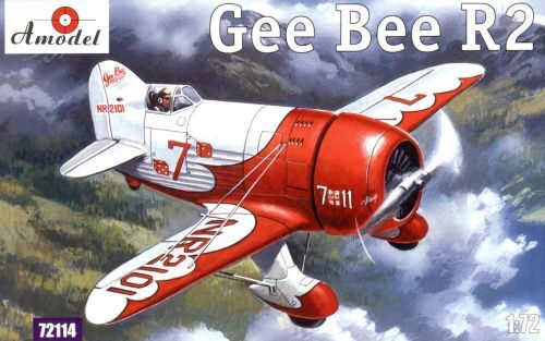 Amodel AMO72114 Gee Bee Super Sportster R2 Aircraft