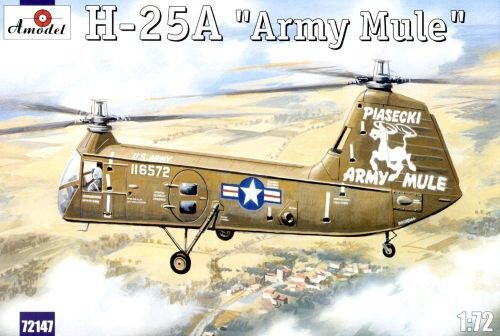 Amodel AMO72147 H-25A 'Army Mule' USAF helicopter
