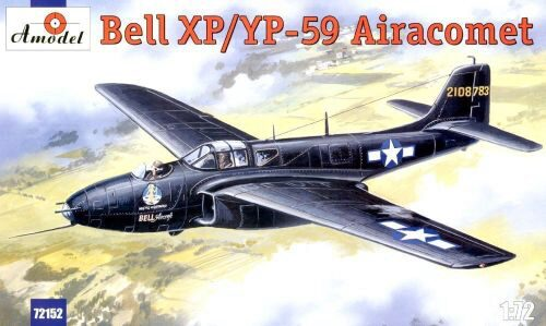 Amodel AMO72152 Bell XP/YP-59 Airacomet USAF fighter