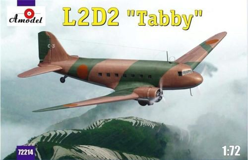 Amodel AMO72214 L2D2 Taddy Japan transport aircraft