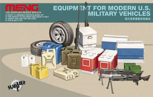 MENG-Model SPS-014 Equipment for modern U.S.Military vehicl