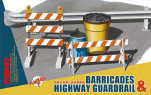 MENG-Model SPS-013 Barricades & Highway Guardrail