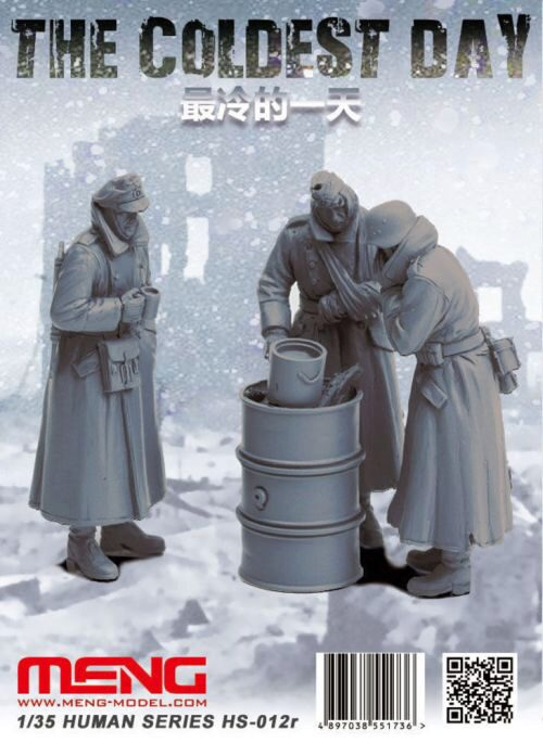 MENG-Model HS-012r The Coldest Day (resin)