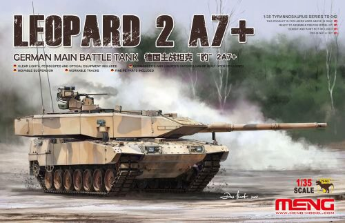 MENG-Model TS-042 German Main Battle Tank Leopard 2A7+