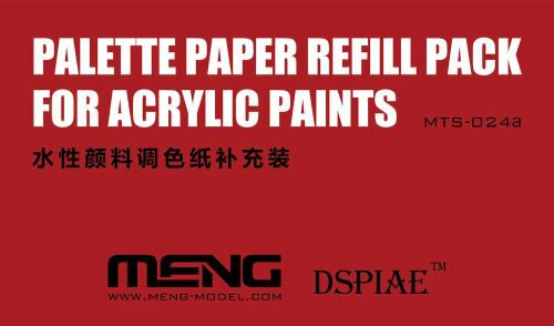 MENG-Model MTS-024a Palette Paper Refill Pack