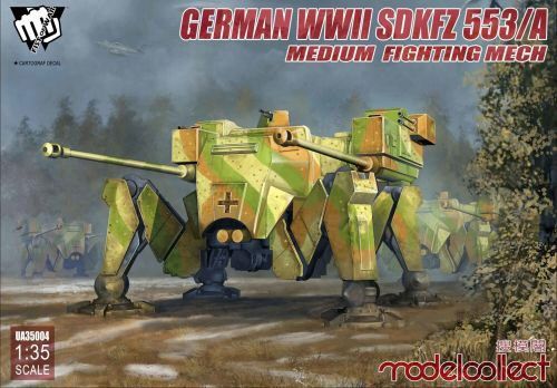 Modelcollect UA35004 Fist of War German WWII sdkfz 553/A medium fighting Mech