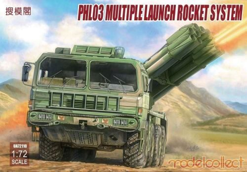 Modelcollect UA72110 PHL03 Multiple launch rocket system