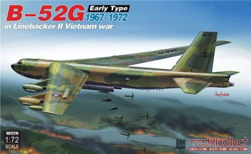 Modelcollect UA72210 B-52G early type in Linebacker II Vietnam war 1967-1972