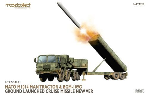 Modelcollect UA72328 Nato M1014 MAN Tractor&BGM-109G Ground Launched Cruise Missile new Ver