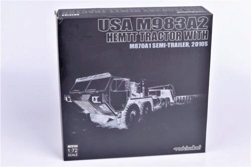 Modelcollect AS72134 USA M983A2 Hemtt Tractor with M870A1 semi-trailer, 2010s
