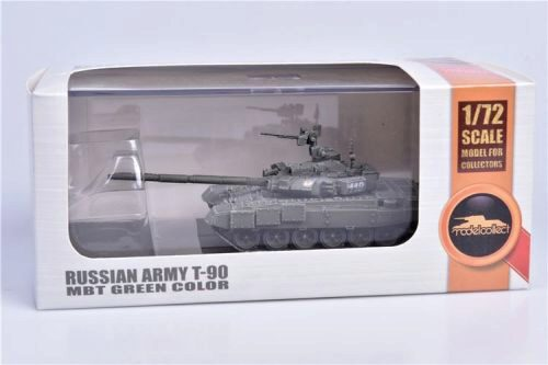 Modelcollect AS72137 Russian Army T-90 MBT green color