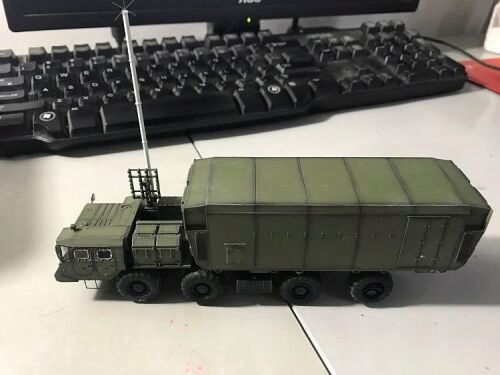 Modelcollect AS72143 Russian S300 missile system 54K6EBaikal Air Defence Command Post 2010s