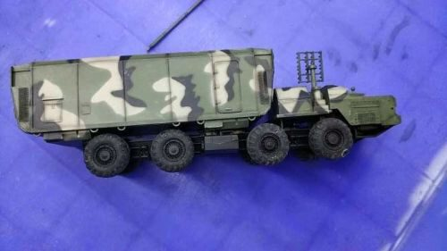 Modelcollect AS72144 Russian S300 missile system 54K6E Baikal Air Defence Command Post camouflage