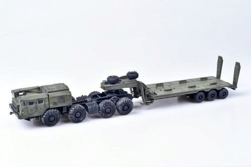 Modelcollect AS72145 Soviet/Russian Army MAZ-7410 w. ChMZAP-9990 semi-trailer green