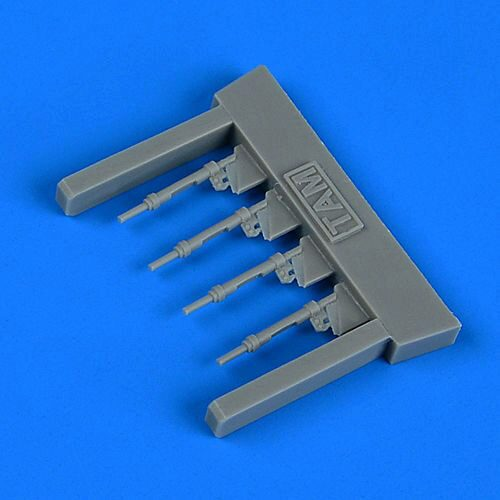 Quickboost QB72 625 Bf 109G-6 piston rods with undercarriage legs locks for Tamiya