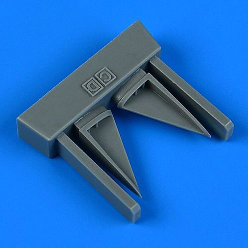 Quickboost QB32 246 F-4C/D Phantom II vertical tail air inlet for Tamiya