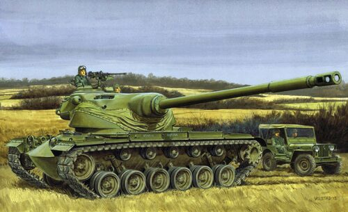 Dragon Models 500733560 Panzer T54E1