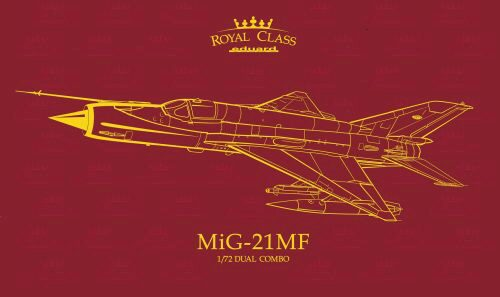 Eduard Plastic Kits R0017 MiG-21MF  Royal class