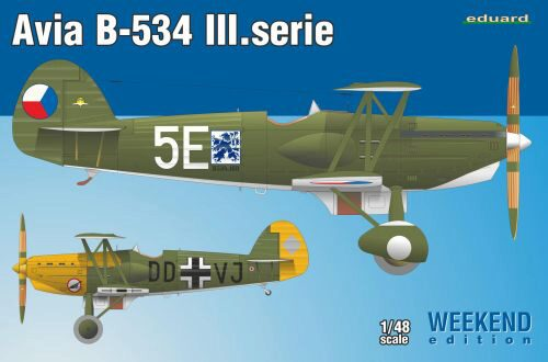 Eduard Plastic Kits 8478 Avia B-534 III.serie  Weekend Edition