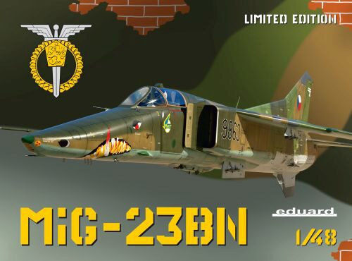 Eduard Plastic Kits 11132 MiG-23BN, Limited Edition