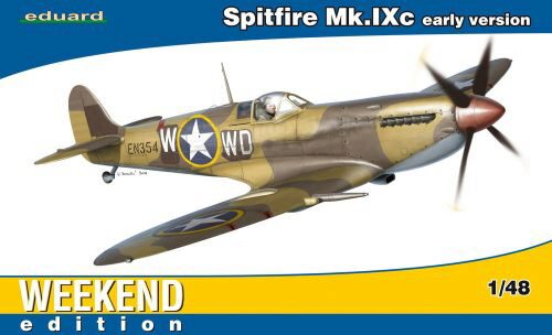 Eduard Plastic Kits 84137 Spitfire Mk.IXc early version
