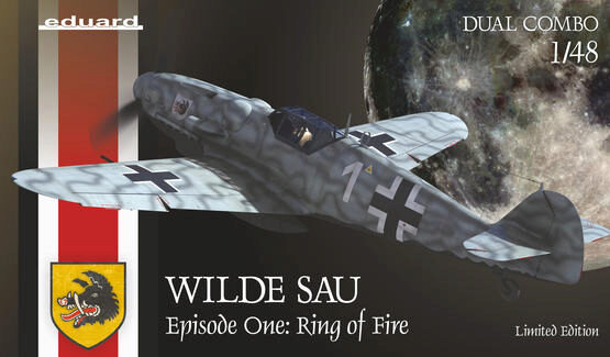 Eduard Plastic Kits 11140 WILDE SAU Epizode One: RING of FIRE, Limited Edition