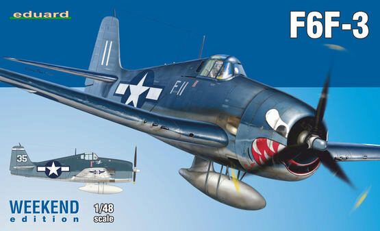 Eduard Plastic Kits 84160 F6F-3, Weekend Edition