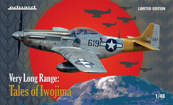 Eduard Plastic Kits 11142 VERY LONG RANGE: Tales of Iwojima, Limited Edition