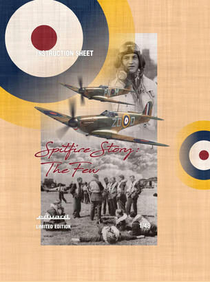 Eduard Plastic Kits 11143 THE SPITFIRE STORY, Limited Edition