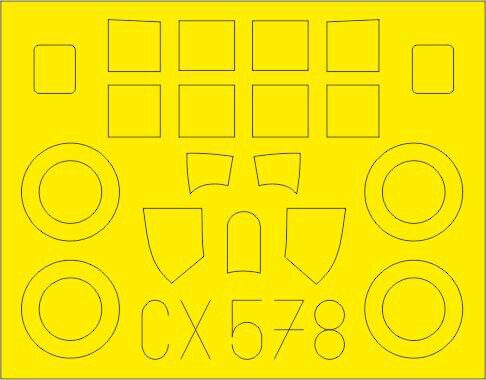 Eduard Accessories CX578 FM-2 for Arma Hobby