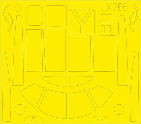 Eduard Accessories JX256 A-26B Invader for Hobby Boss
