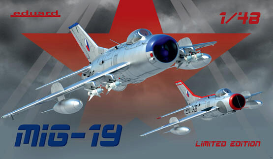 Eduard Plastic Kits 11141 MiG-19, Limited Edition