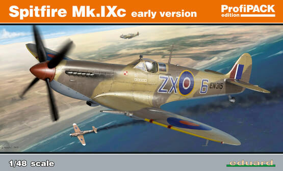 Eduard Plastic Kits 8282 Spitfire Mk.IXC early version (Reedition Profipack