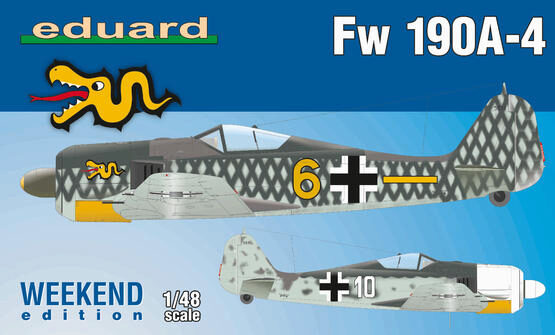 Eduard Plastic Kits 84121 Fw 190A-4, Weekend Edition