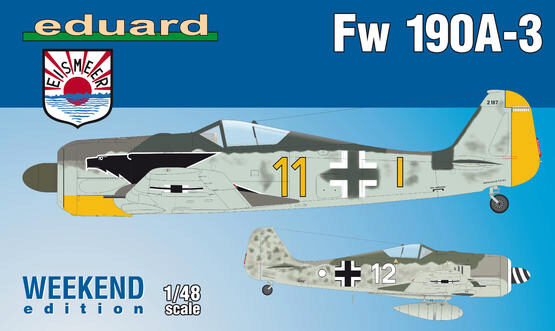 Eduard Plastic Kits 84112 Fw 190A-3, Weekend Edition