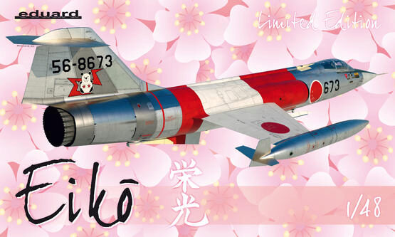 Eduard Plastic Kits 11130 Eiko F-104J in Japanese service Limited Edition