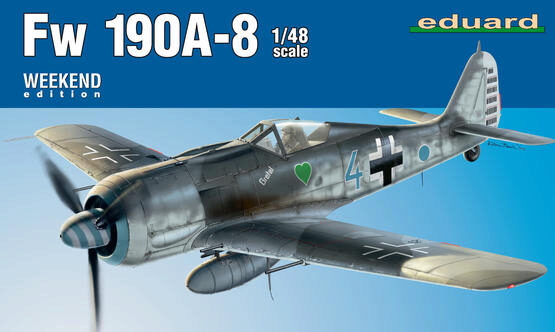 Eduard Plastic Kits 84122 Fw 190A-8 Weekend Edition