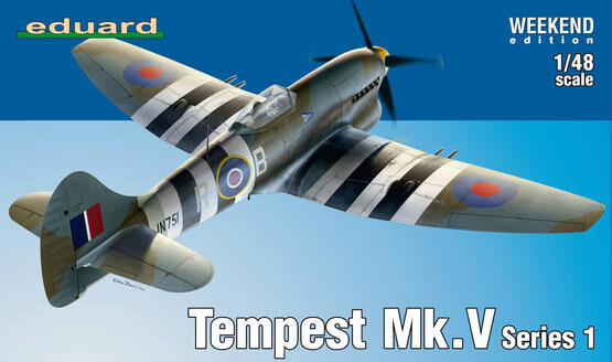 Eduard Plastic Kits 84171 Tempest Mk.V Series 1, Weekend Edition