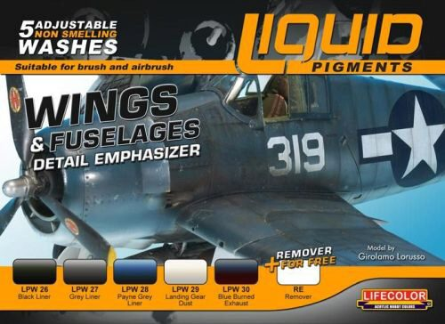 Lifecolor LP06 Complements Lifecolor for Wings and fuselages LP06