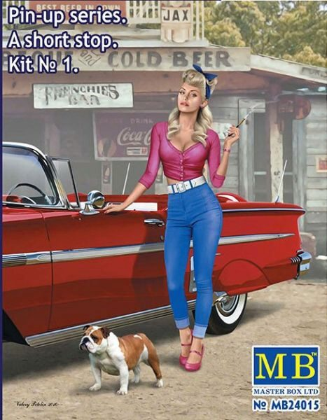 Master Box  MB24015 Pin-up series.A short stop.Kit No.1