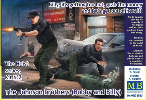 Master Box Ltd. MB24065 The Heist series,Kit#2. The Johnson brothers (Bobby and Billy)