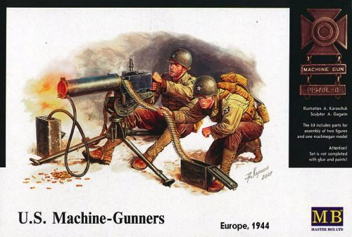 Master Box  MB3519 U.S. Machine-Gunners Europe 1944