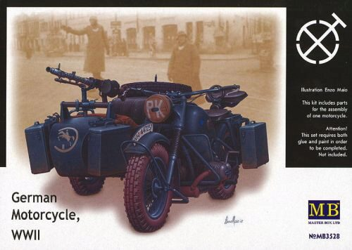Master Box  MB3528 BMW R75 Sidecar