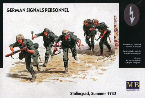 Master Box  MB3540 German Signals Personnel Stalingrad Summer 1942