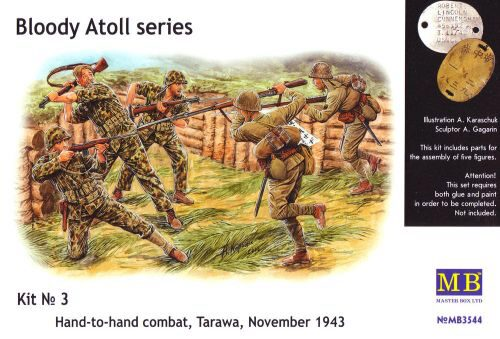 Master Box  MB3544 'Bloody Atol' Hand-to-hand fight, Tarawa