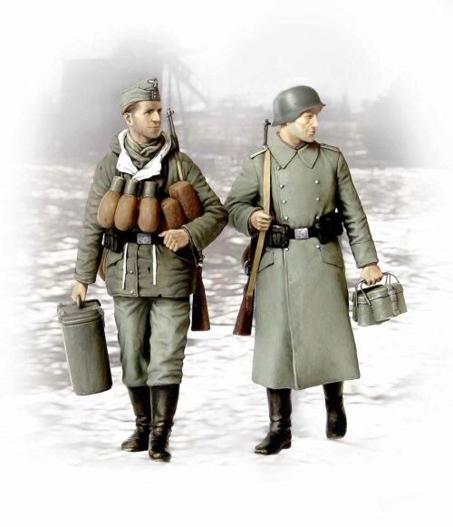 Master Box  MB3553 Supplies! german soldiers 2 figs