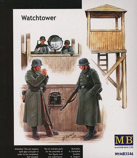 Master Box  MB3546 Watch Tower' w/4 figs