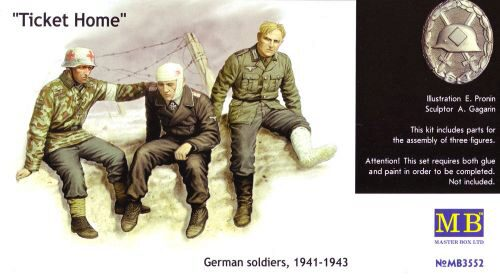 Master Box Ltd. MB3552 Ticket Home wounded soldiers