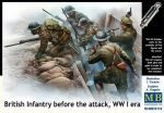 Master Box Ltd. MB35114 British infantry before attack,WWI era